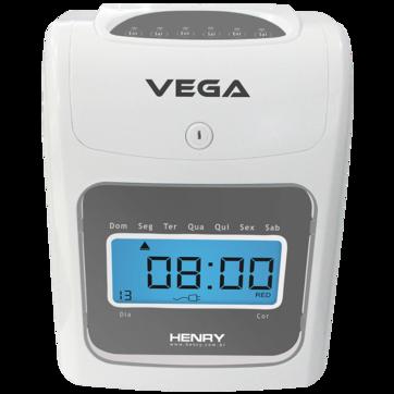 Vega Relógio de Ponto Cartográfico - Henry com Sirene  e bateria