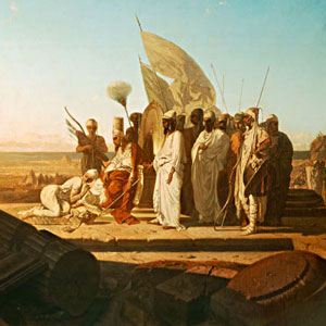 Xerxes at the Hellespont