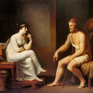 Penelope Questions Odysseus