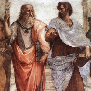 Aristole and Plato in the Academy