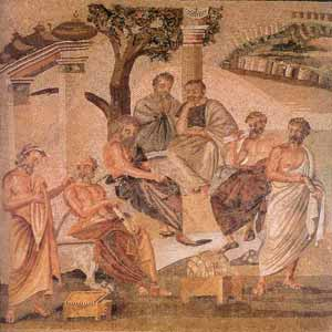 Plato Discussing Philosophy
