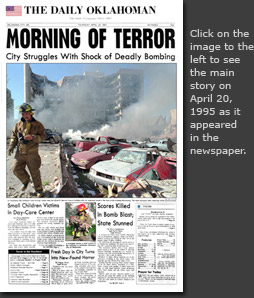 April 20, 1995: Read this main story as it appeared in print in our online archives.