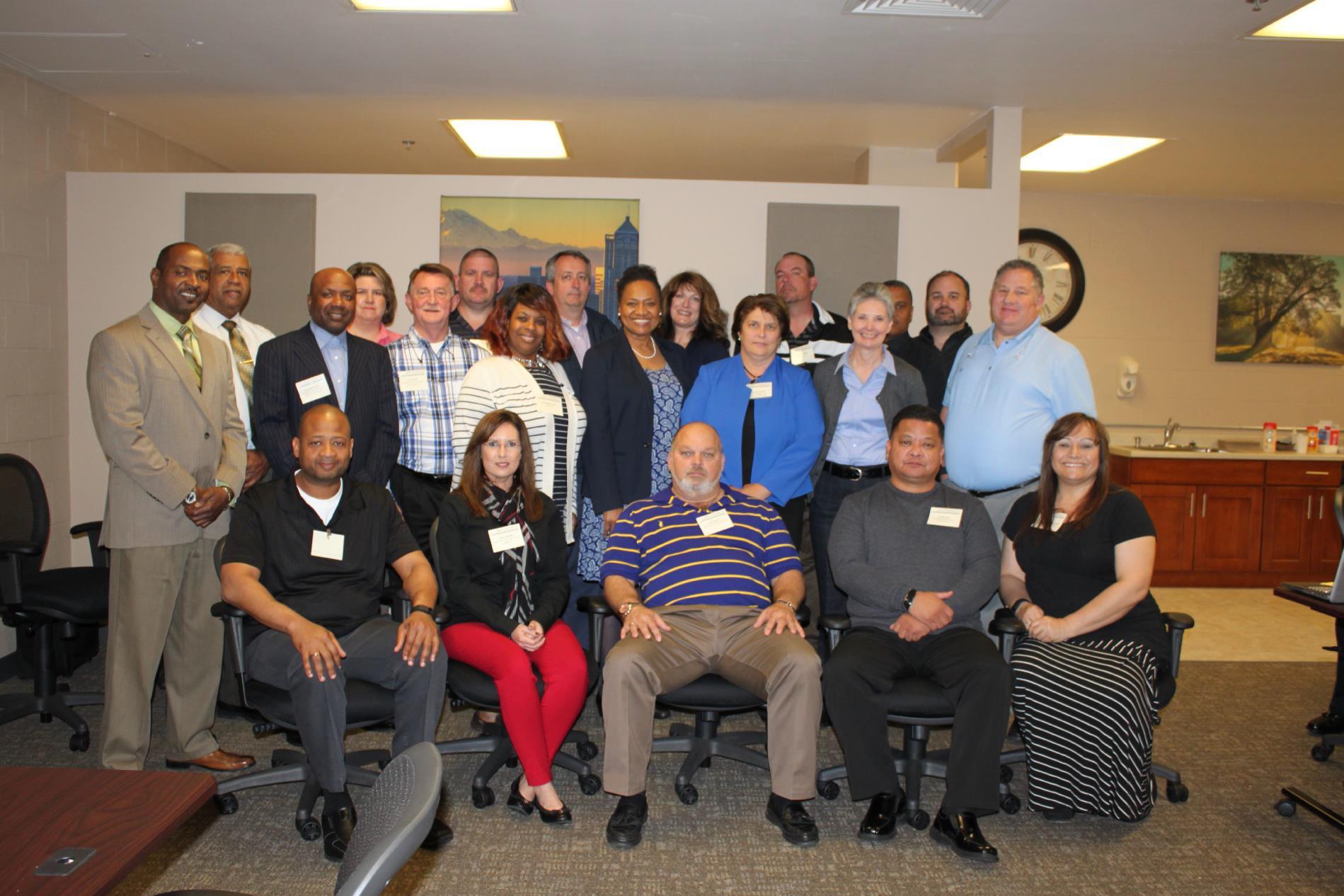 Executive Training for New Wardens graduation