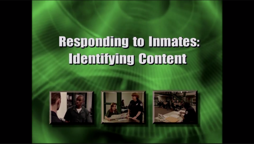 Interpersonal Communications in the Correctional Setting