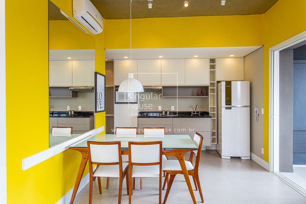 61 m² | 1 suíte | Brooklin