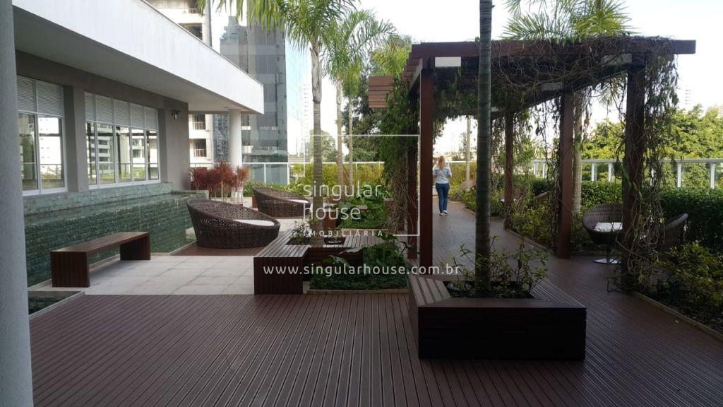 BROOKLIN NOVO 44M² | 1 DORMITÓRIO| Lazer Completo | MOBILIADO