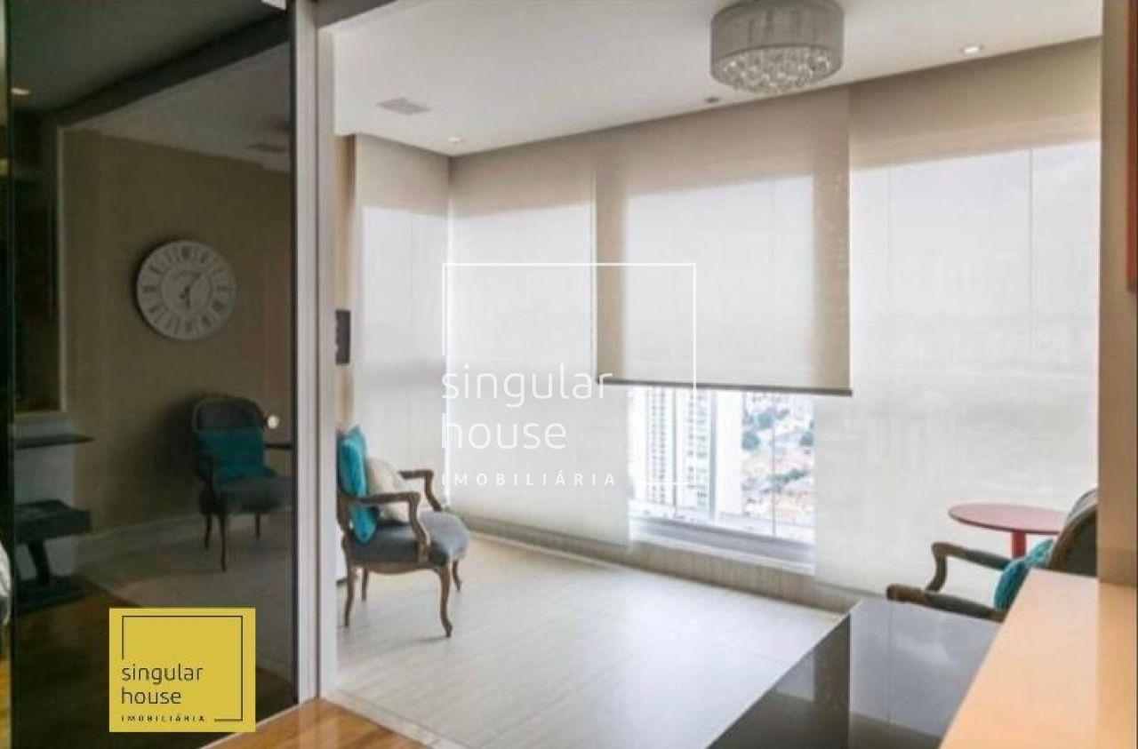 APTO MOBILIADO 44M² | 1 DORMITÓRIO| Lazer Completo |  ANDAR ALTO