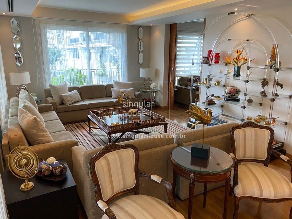 255 m² | 2 suítes + Home | Parque Cidade Jardim