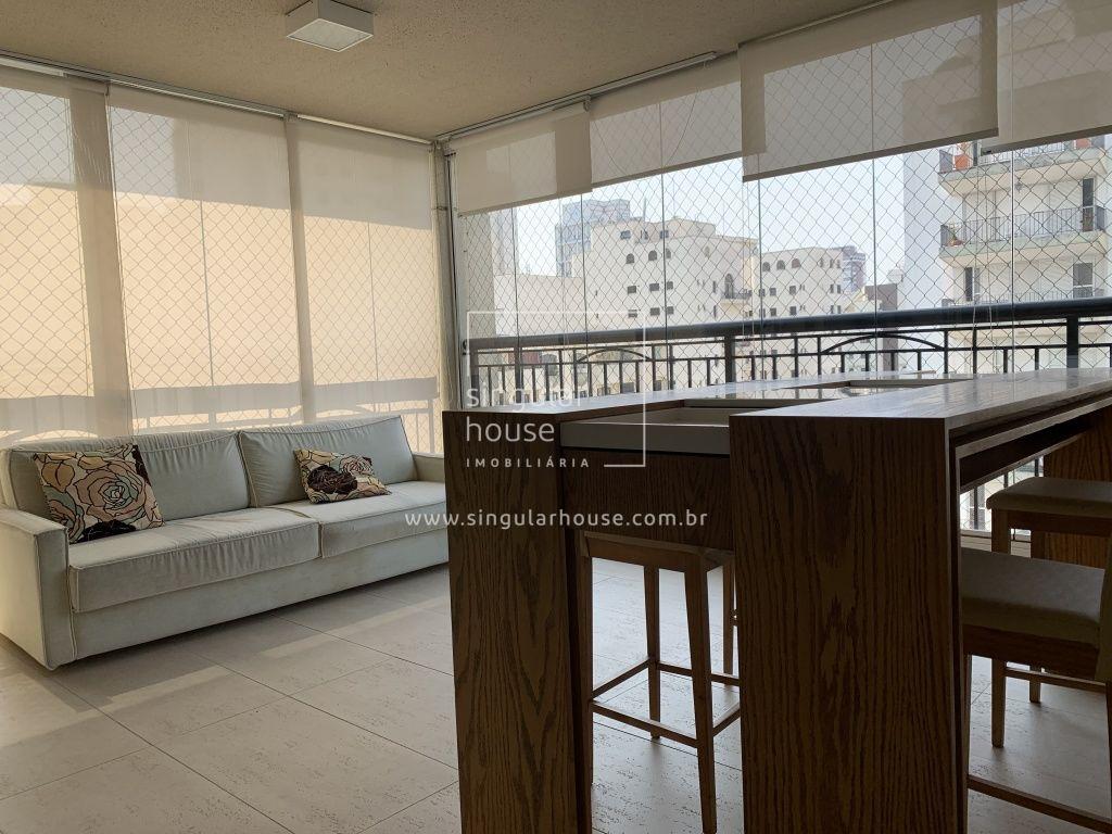 MOEMA ALTO PADRÃO  209m² MOBILIADO | 4 suítes | 3 vgs garagem