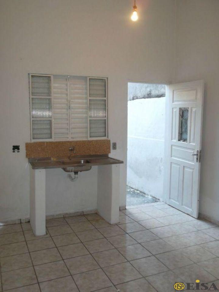 LOCAÇÃO | CASA TéRREA - Vila Mazzei - 1 dormitórios -  Vagas - 50m² - CÓD:EJ1145