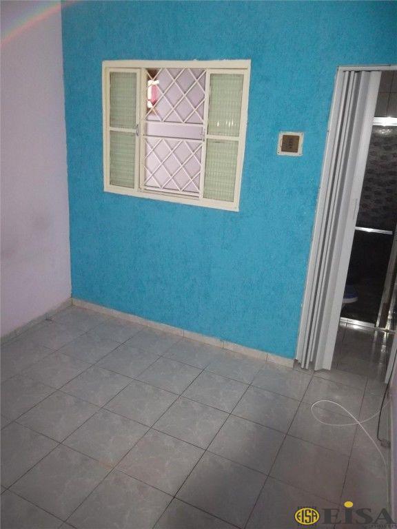 LOCAÇÃO | CASA TéRREA - Parque Edu Chaves - 1 dormitórios -  Vagas - 50m² - CÓD:EJ1536