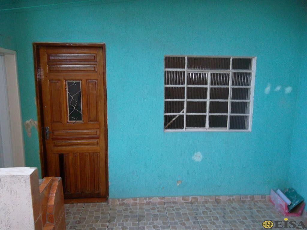 LOCAÇÃO | CASA TéRREA - Jardim Brasil Zona Norte - 1 dormitórios -  Vagas - 50m² - CÓD:EJ1689