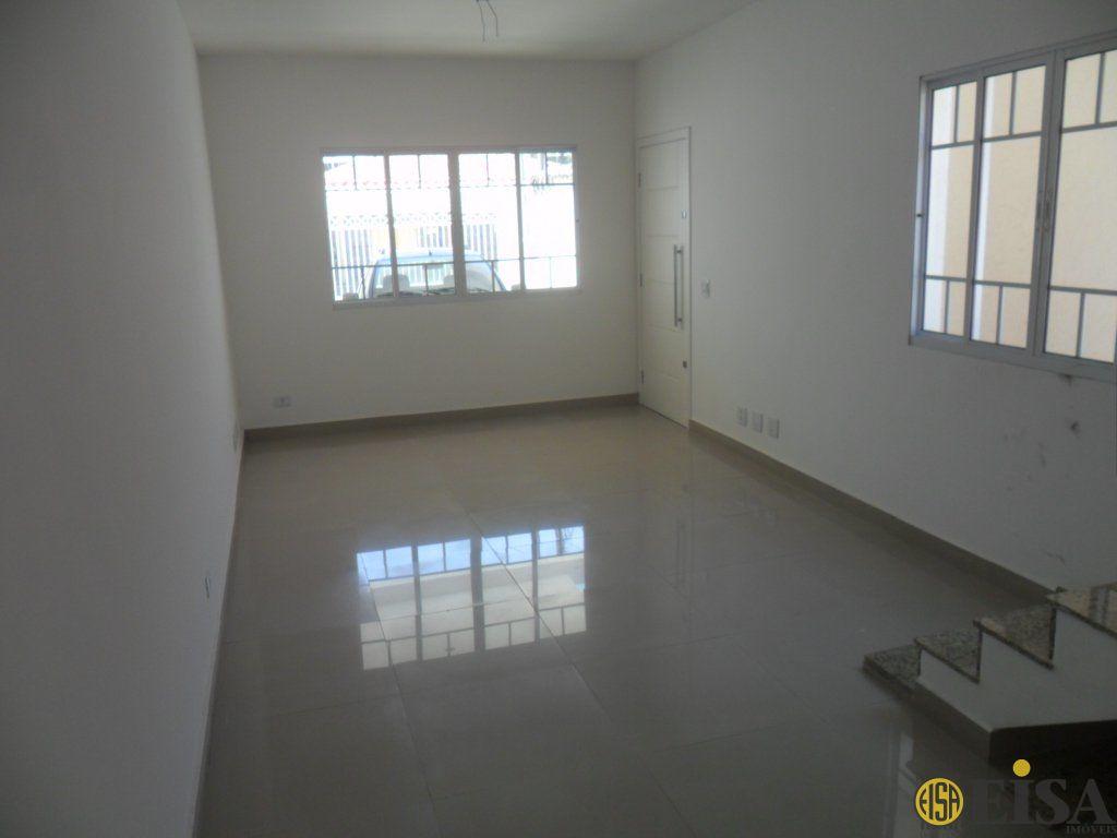 VENDA | SOBRADO - Parque Edu Chaves - 3 dormitórios - 2 Vagas - 130m² - CÓD:EJ2500