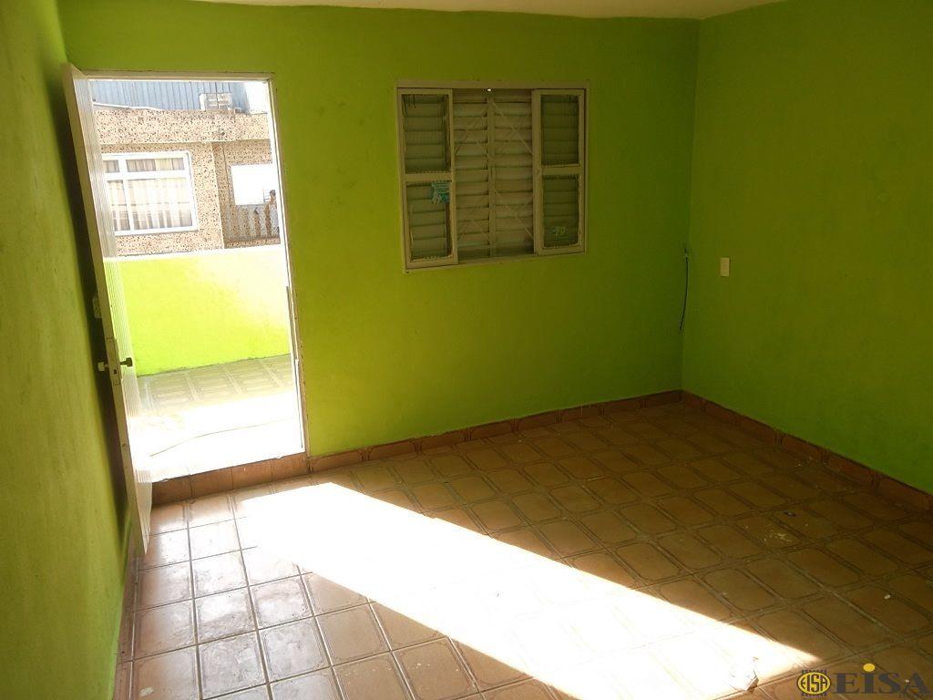 LOCAÇÃO | CASA TéRREA - Parque Edu Chaves - 1 dormitórios -  Vagas - 50m² - CÓD:EJ3063