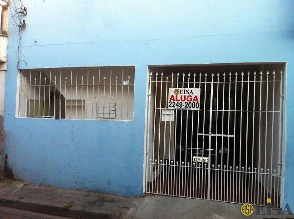LOCAÇÃO | CASA TéRREA - Parque Edu Chaves - 1 dormitórios -  Vagas - 60m² - CÓD:EJ3115
