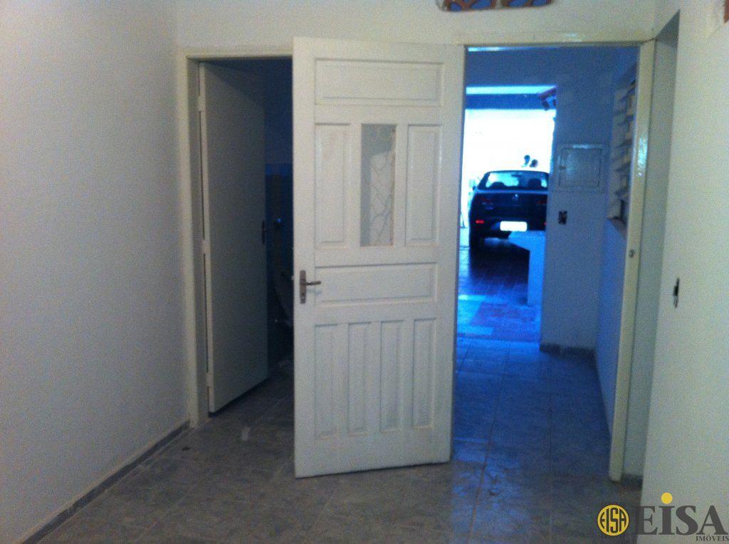 LOCAÇÃO | CASA TéRREA - Parque Edu Chaves - 1 dormitórios -  Vagas - 60m² - CÓD:EJ3116