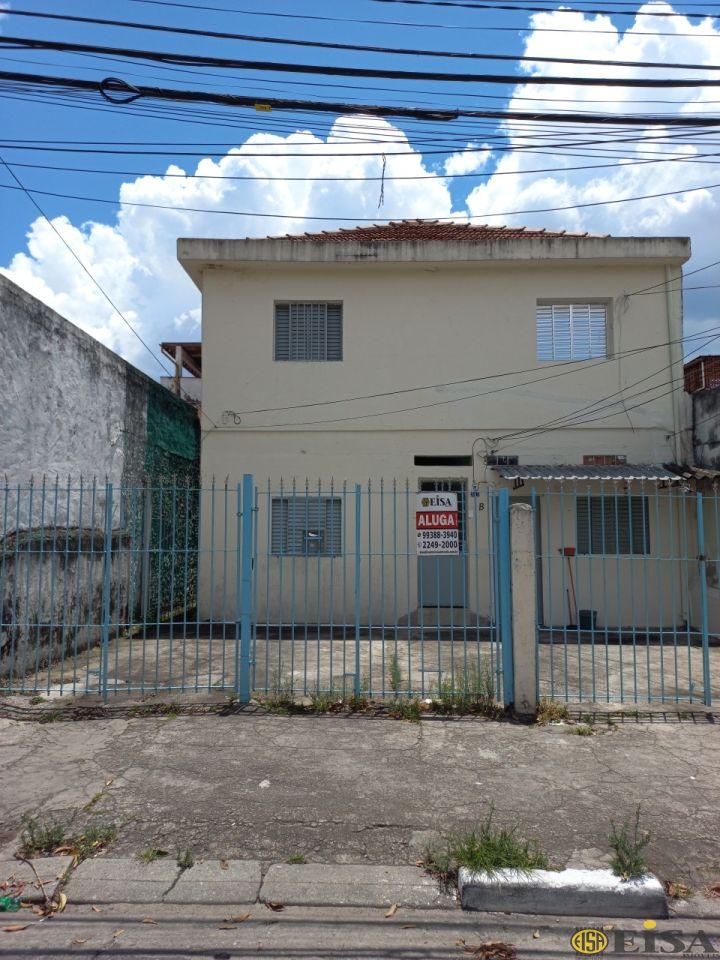 LOCAÇÃO | CASA TéRREA - Jardim Brasil Zona Norte - 1 dormitórios - 1 Vagas - 50m² - CÓD:EJ3172