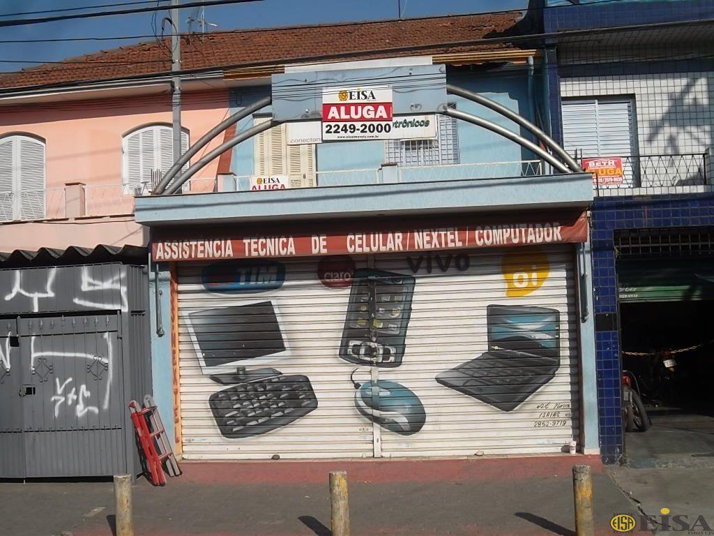 LOCAÇÃO   COMERCIAL - Vila Gustavo -  dormitórios -  Vagas - 100m² - CÓD:EJ3186
