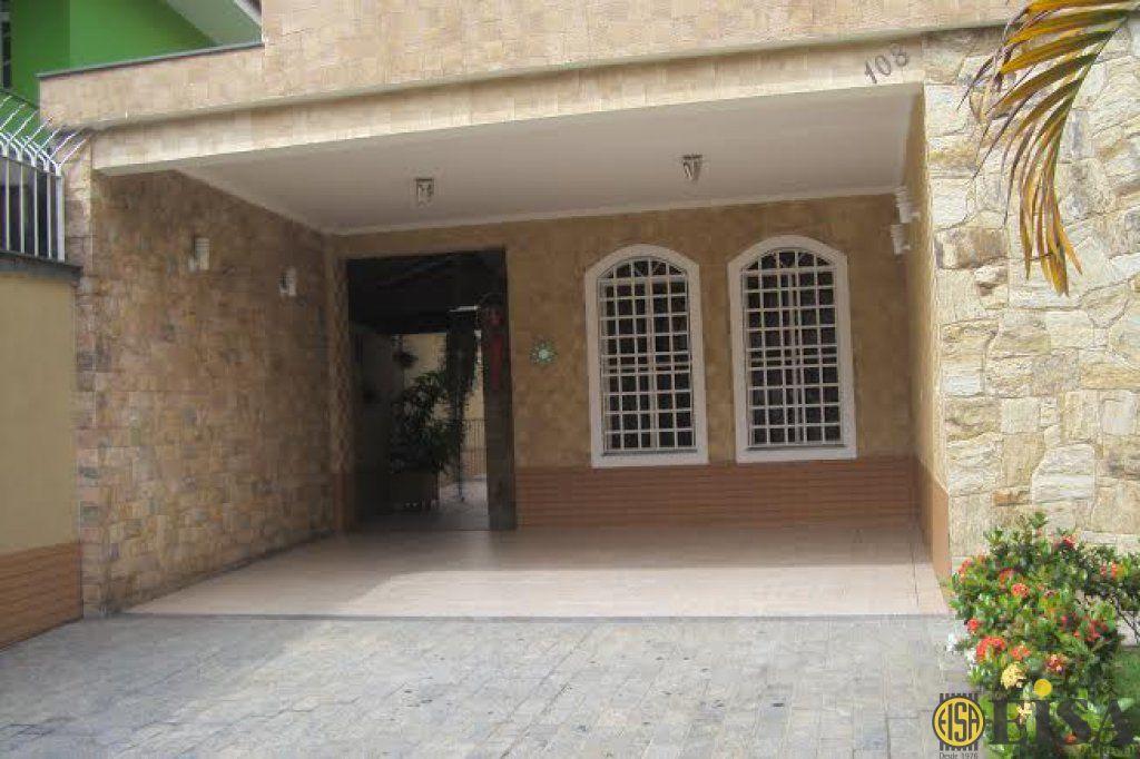VENDA | SOBRADO - Horto Florestal - 3 dormitórios - 4 Vagas - 270m² - CÓD:EJ3245