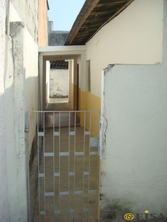 LOCAÇÃO | CASA TéRREA - Jardim Brasil Zona Norte - 1 dormitórios -  Vagas - 50m² - CÓD:EJ3280
