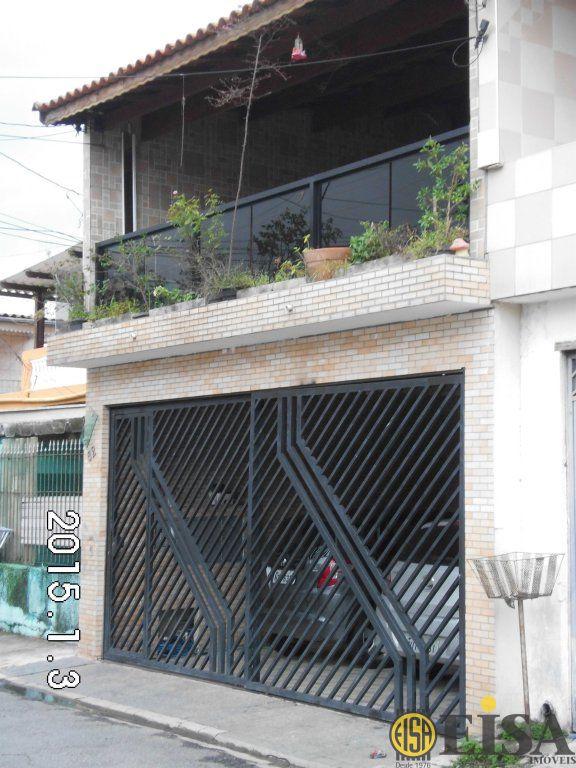 VENDA | CASA ASSOBRADADA - Parque Edu Chaves - 2 dormitórios - 2 Vagas - 150m² - CÓD:EJ3613