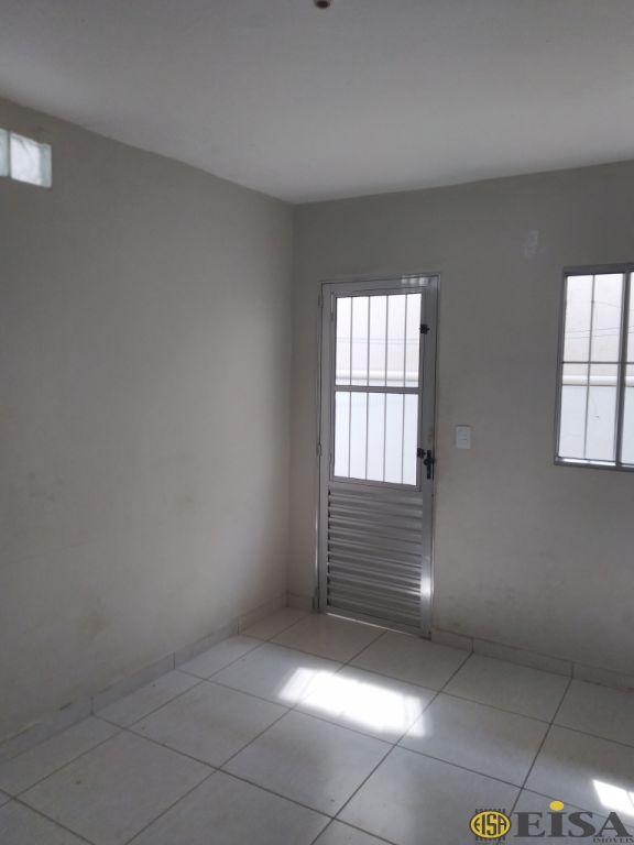 LOCAÇÃO   CASA TéRREA - Vila Gustavo - 2 dormitórios -  Vagas - 50m² - CÓD:EJ4073