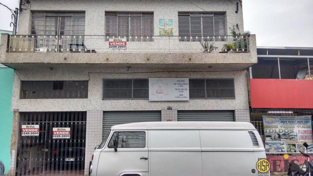 VENDA | SOBRADO - Jardim Brasil Zona Norte - 2 dormitórios -  Vagas - 440m² - CÓD:EJ4176