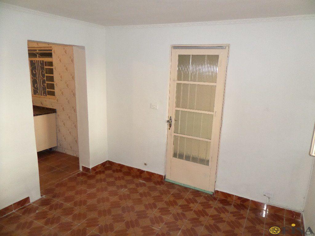 LOCAÇÃO | CASA TéRREA - Parque Edu Chaves - 1 dormitórios -  Vagas - 20m² - CÓD:EJ4250