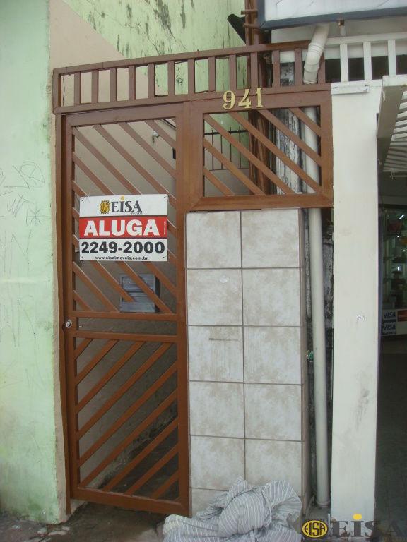 LOCAÇÃO | CASA TéRREA - Jardim Brasil Zona Norte - 1 dormitórios -  Vagas - 30m² - CÓD:EJ4328