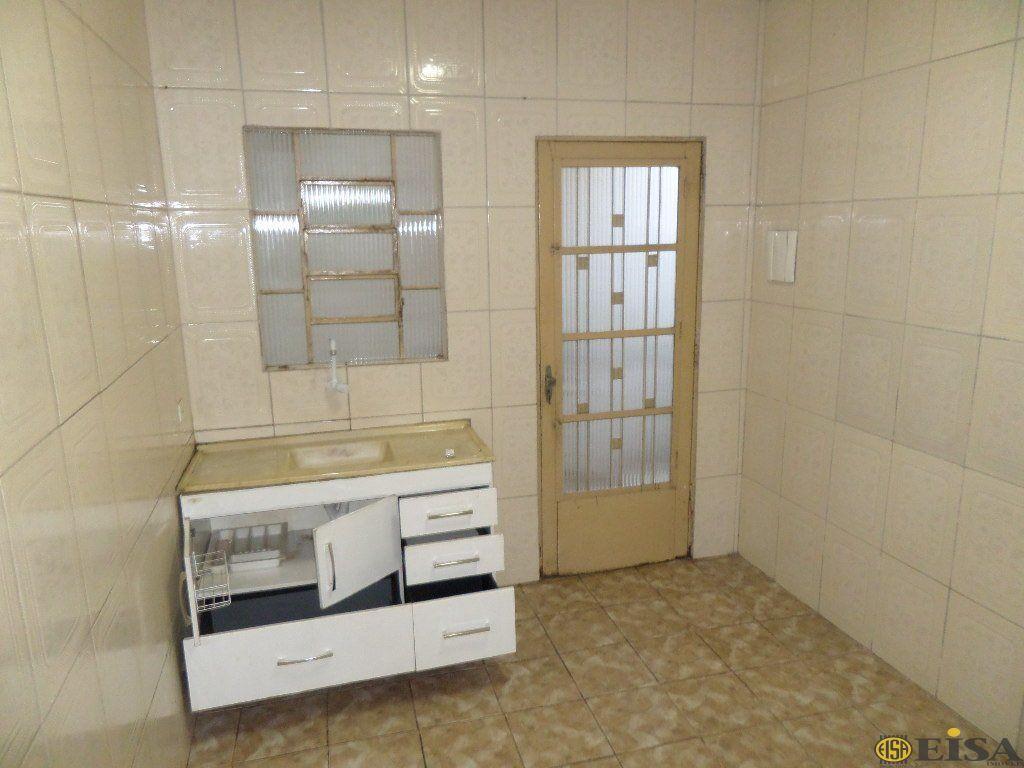 LOCAÇÃO | CASA TéRREA - Jardim Brasil Zona Norte - 1 dormitórios - 1 Vagas - 50m² - CÓD:EJ4387