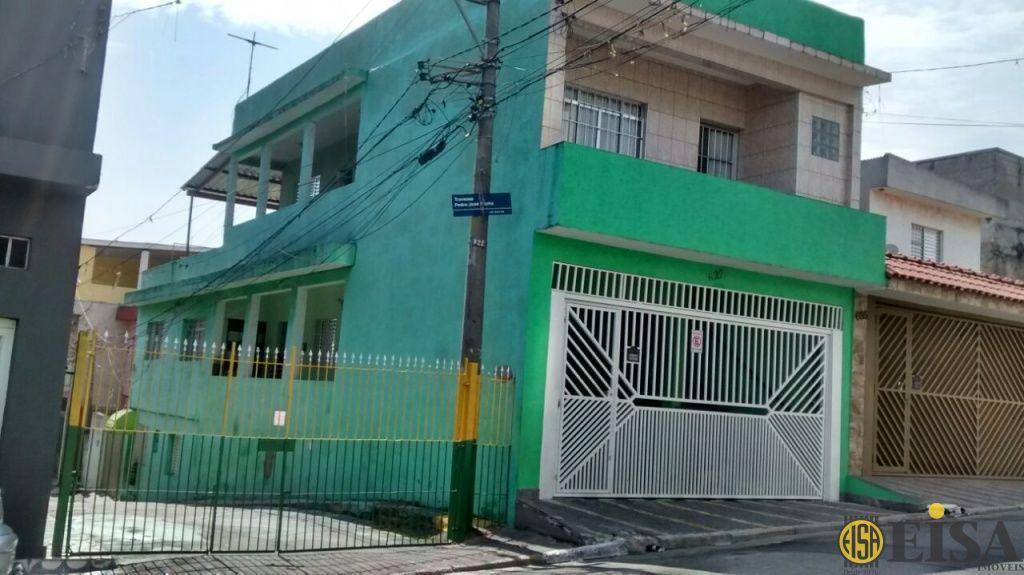 VENDA | SOBRADO - Jardim Brasil Zona Norte - 2 dormitórios - 2 Vagas - 140m² - CÓD:EJ4404