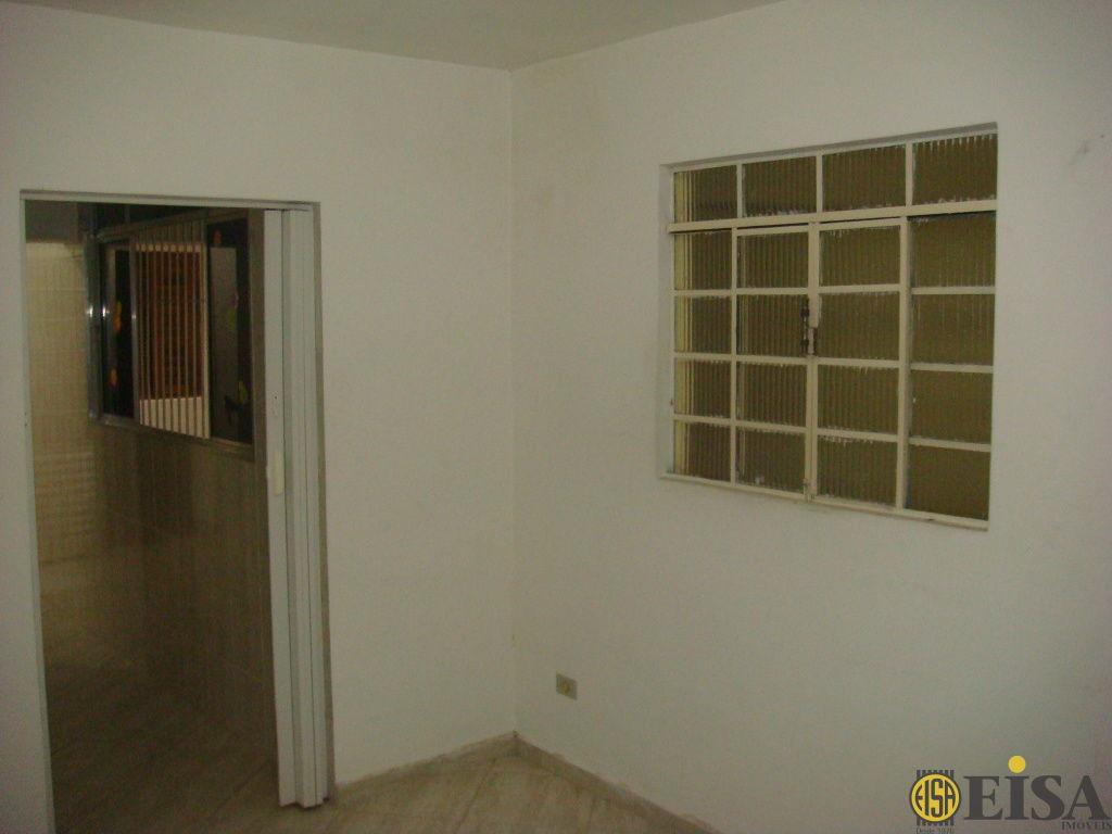 LOCAÇÃO | CASA TéRREA - Jardim Brasil Zona Norte - 1 dormitórios -  Vagas - 50m² - CÓD:EJ4407