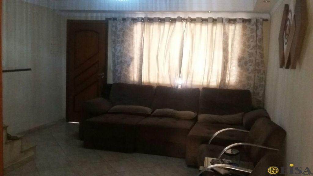 VENDA | SOBRADO - Parque Edu Chaves - 2 dormitórios - 2 Vagas - 120m² - CÓD:EJ4833