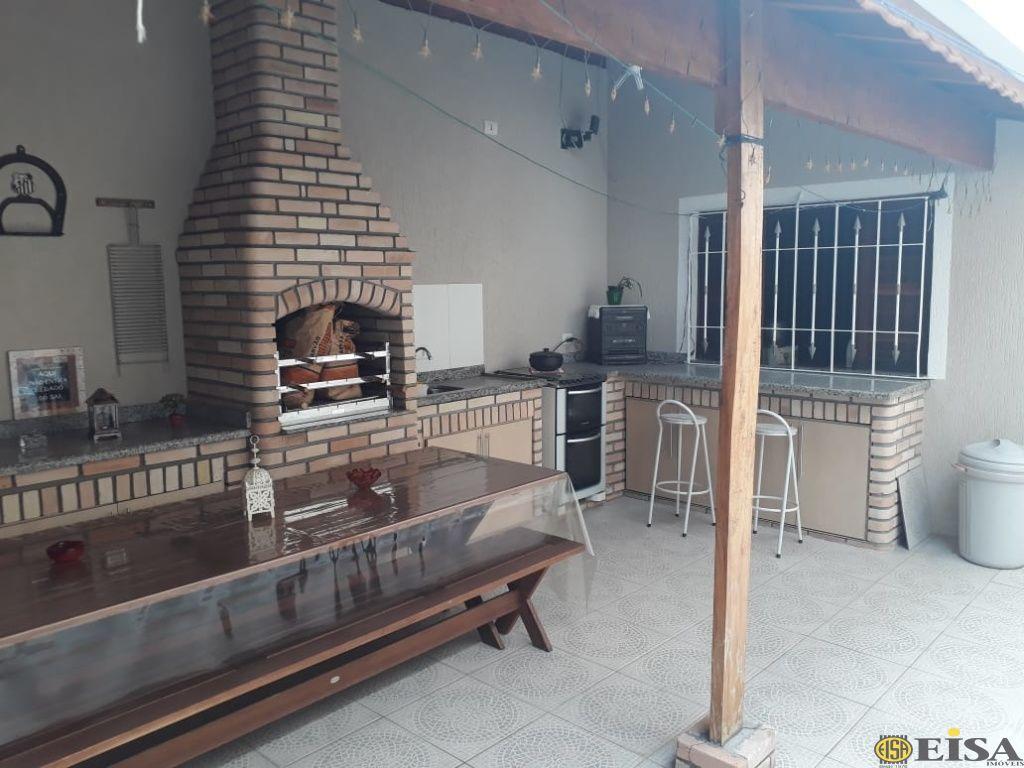 VENDA | CASA TéRREA - Parque Edu Chaves - 3 dormitórios - 2 Vagas - 126m² - CÓD:EJ4859