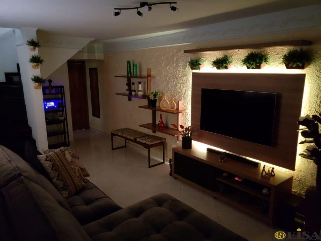 VENDA | SOBRADO - Parque Edu Chaves - 3 dormitórios - 2 Vagas - 118m² - CÓD:EJ4953