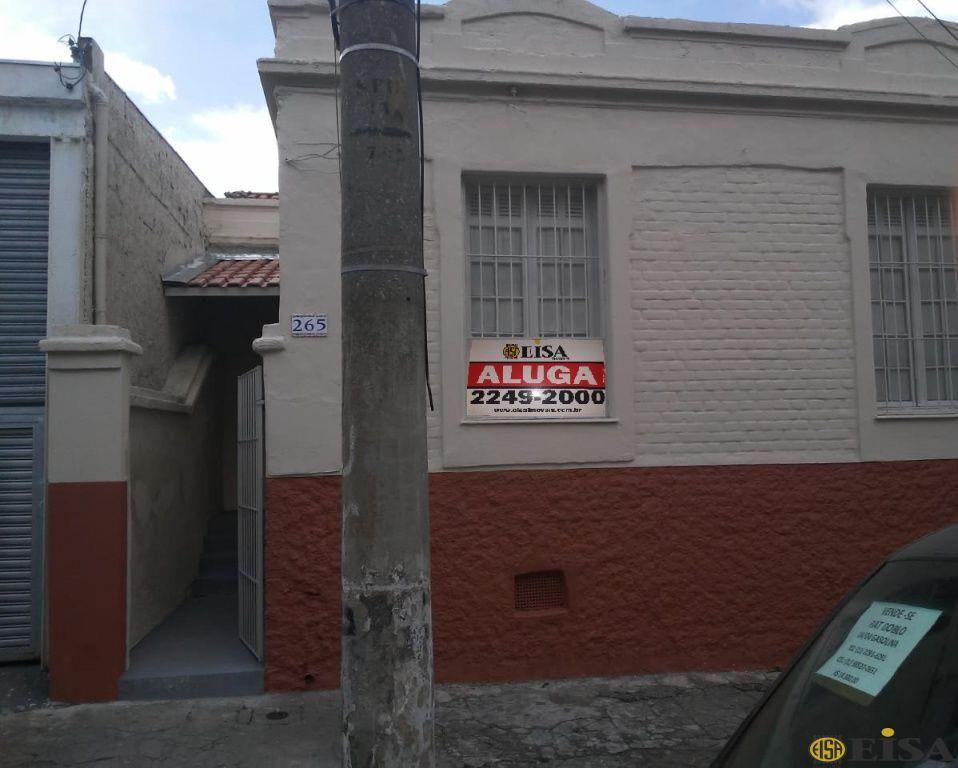 LOCAÇÃO | CASA TéRREA - Brás - 2 dormitórios -  Vagas - 80m² - CÓD:EJ5005