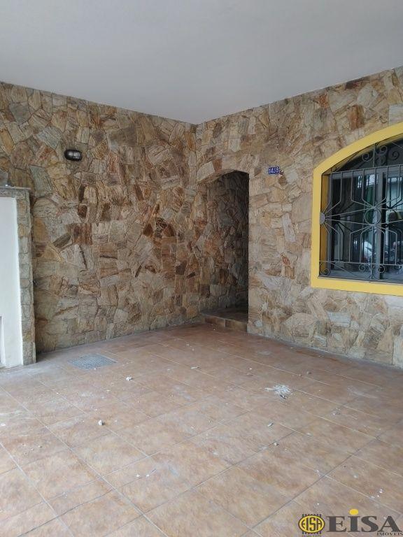 LOCAÇÃO   CASA ASSOBRADADA - Jardim Brasil Zona Norte -  dormitórios - 2 Vagas - 240m² - CÓD:EJ5225