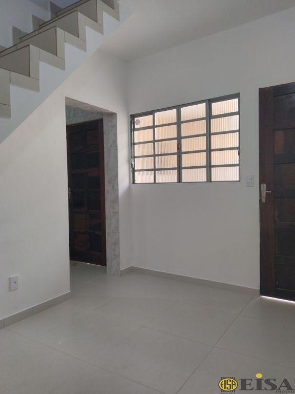 LOCAÇÃO | CASA ASSOBRADADA - Jardim Brasil Zona Norte - 2 dormitórios - 1 Vagas - 80m² - CÓD:EJ5232