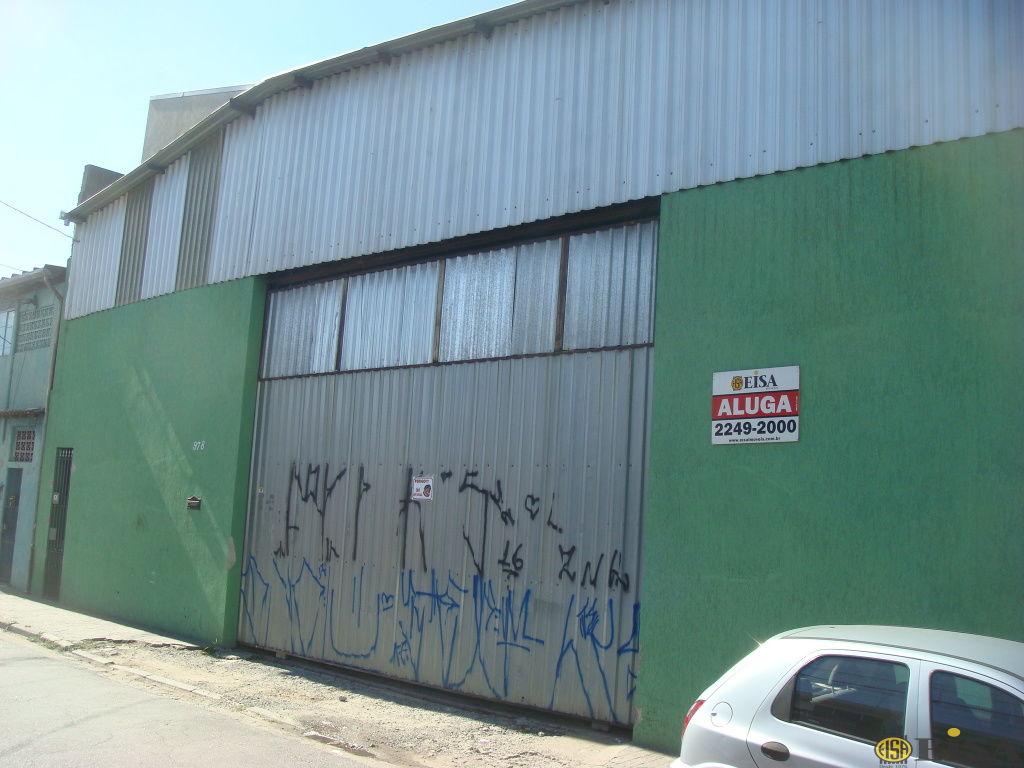 LOCAÇÃO | GALPãO - Chácara São João - 0 dormitórios - 0 Vagas - 850m² - CÓD:EJ609