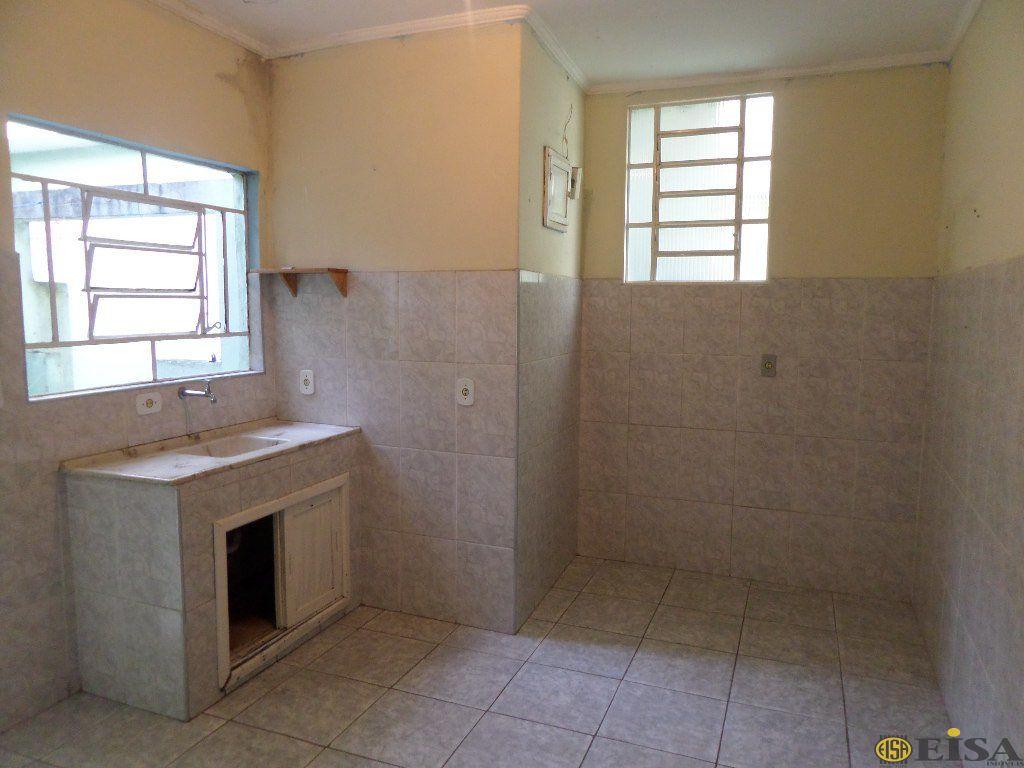 LOCAÇÃO | CASA TéRREA - Jardim Brasil Zona Norte - 1 dormitórios - 0 Vagas - 35m² - CÓD:EJ694