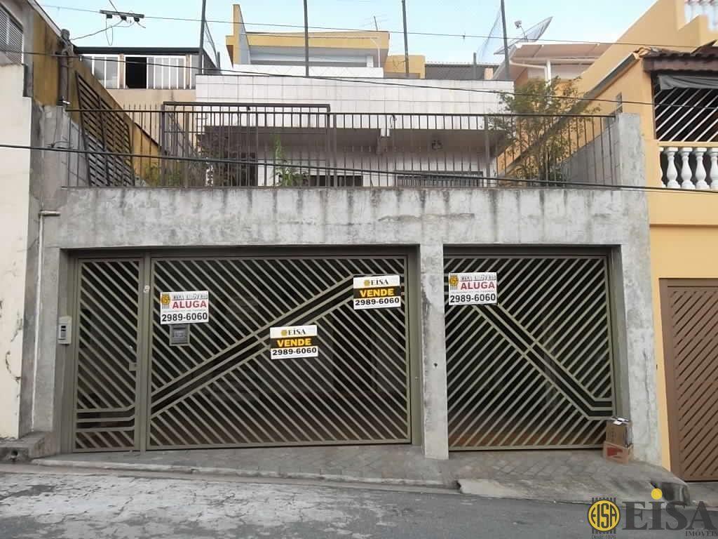 VENDA | SOBRADO - Parada Inglesa - 4 dormitórios - 3 Vagas - 250m² - CÓD:EJ758