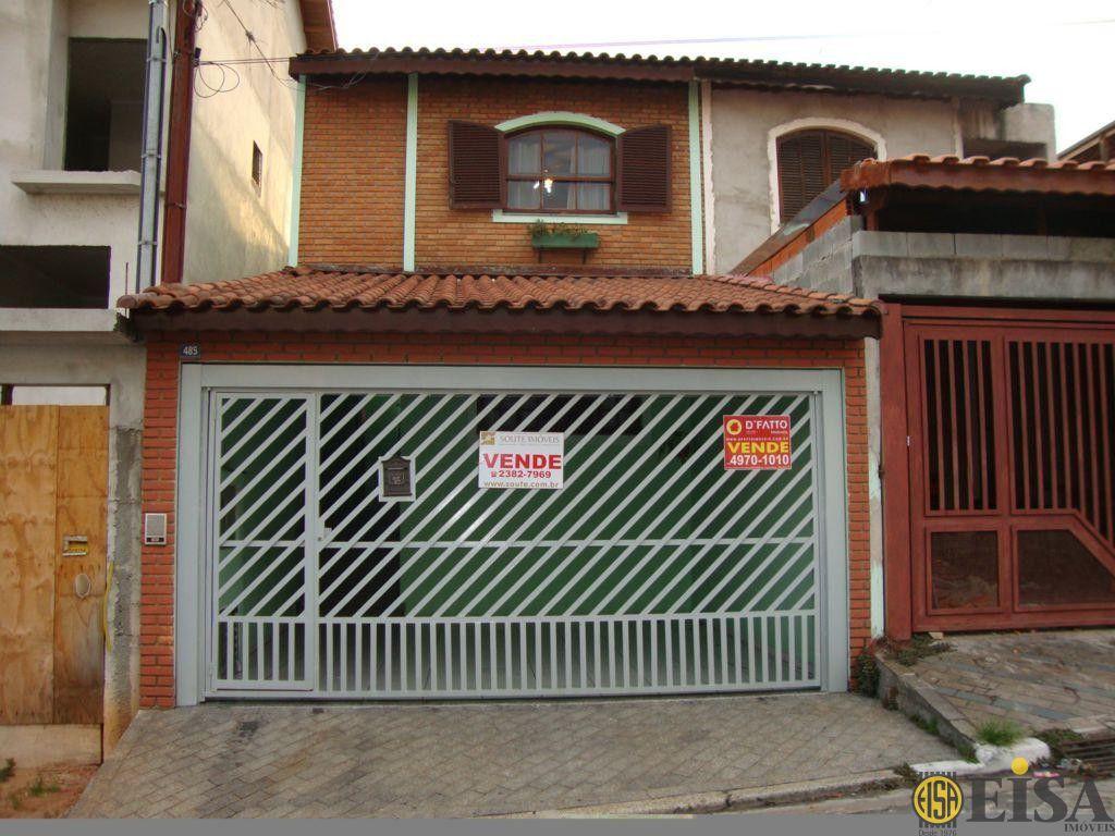 VENDA | SOBRADO - Vila Augusta - 3 dormitórios - 2 Vagas - 140m² - CÓD:ET1680