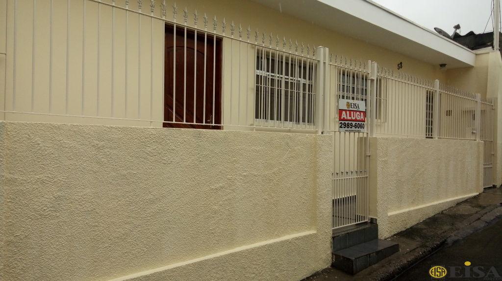 LOCAÇÃO | CASA TéRREA - Vila Gustavo - 2 dormitórios -  Vagas - 60m² - CÓD:ET3514