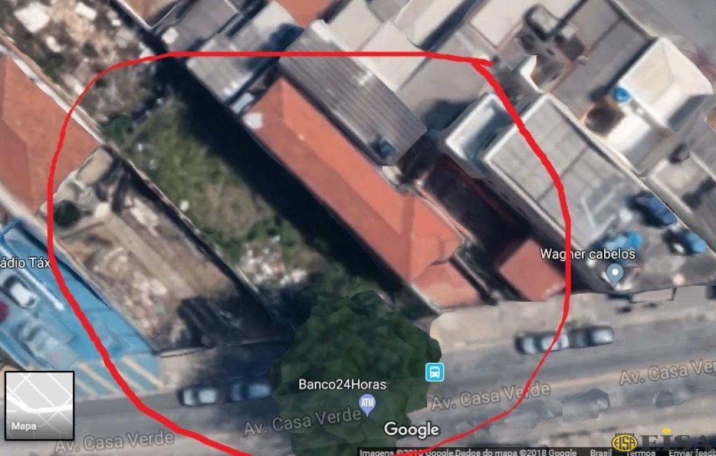 TERRENO - CASA VERDE , SãO PAULO - SP | CÓD.: ET3931