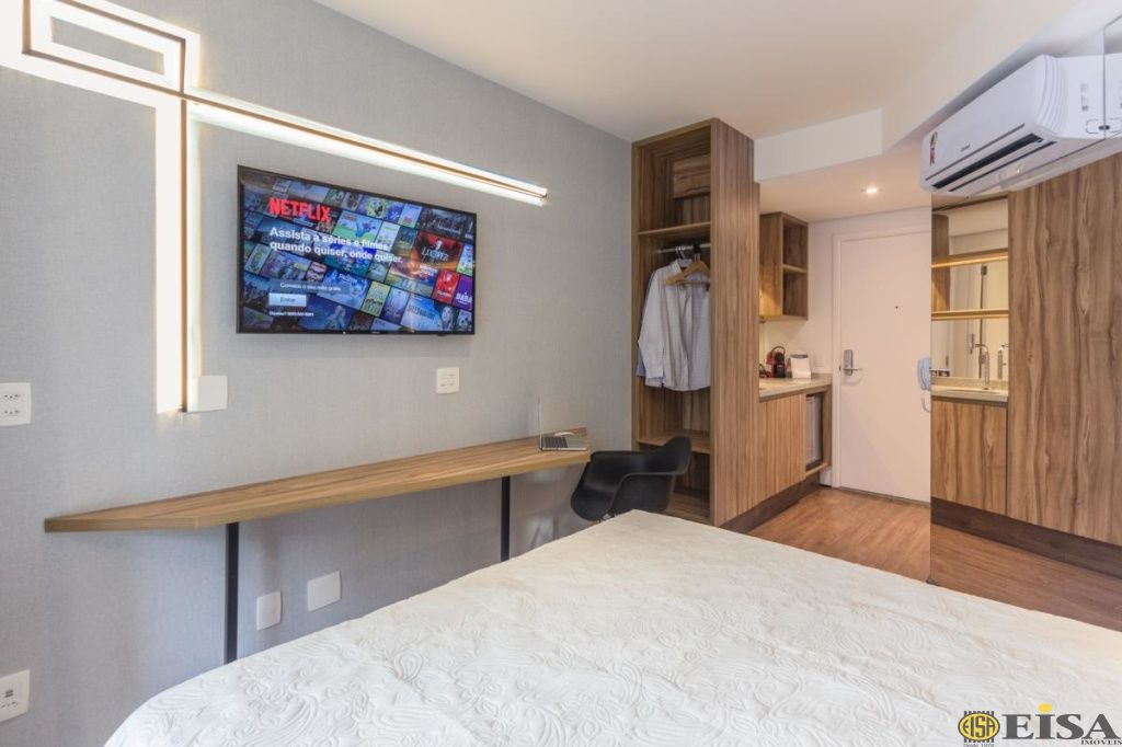VENDA | APARTAMENTO - Consolação - 1 dormitórios -  Vagas - 18m² - CÓD:ET3933