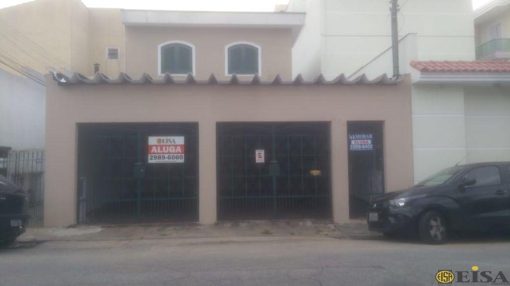 LOCAÇÃO | CASA ASSOBRADADA - Vila Nivi - 3 dormitórios - 3 Vagas - 100m² - CÓD:ET4312
