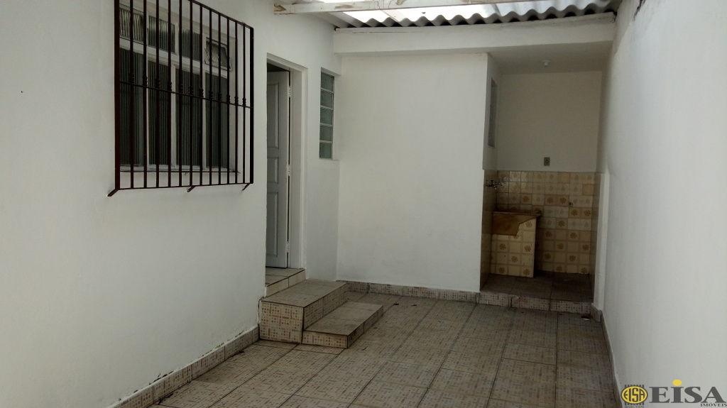 LOCAÇÃO | CASA TéRREA - Parada Inglesa - 1 dormitórios -  Vagas - 50m² - CÓD:ET4326