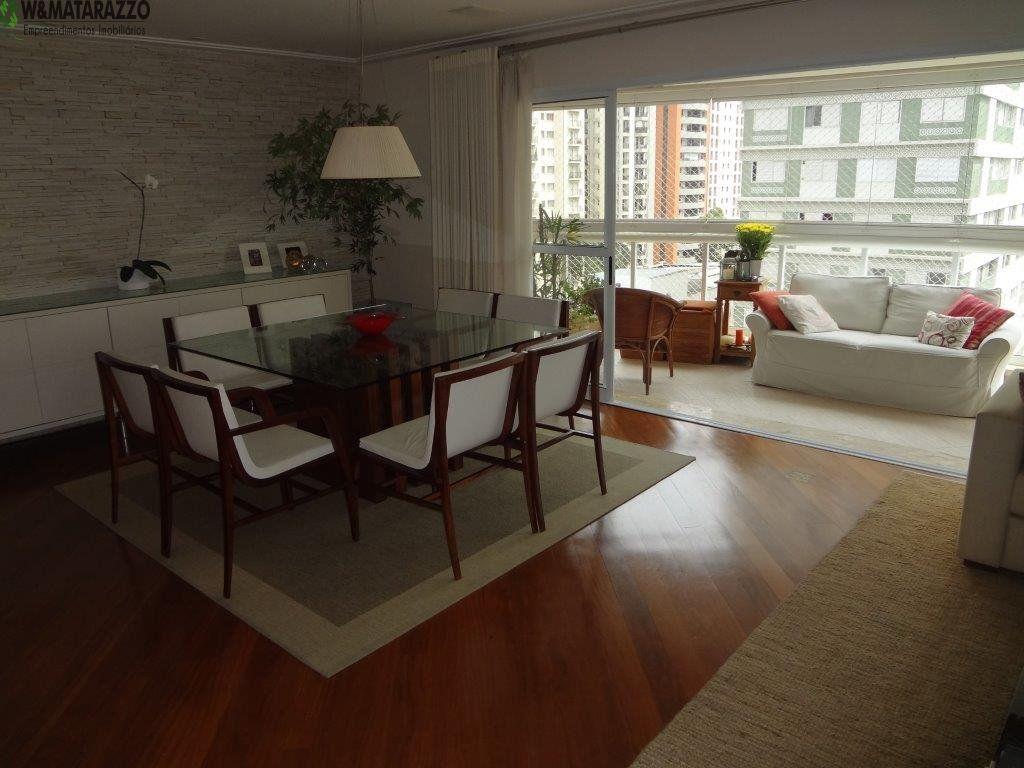 Apartamento Indianópolis 3 dormitorios 5 banheiros 4 vagas na garagem