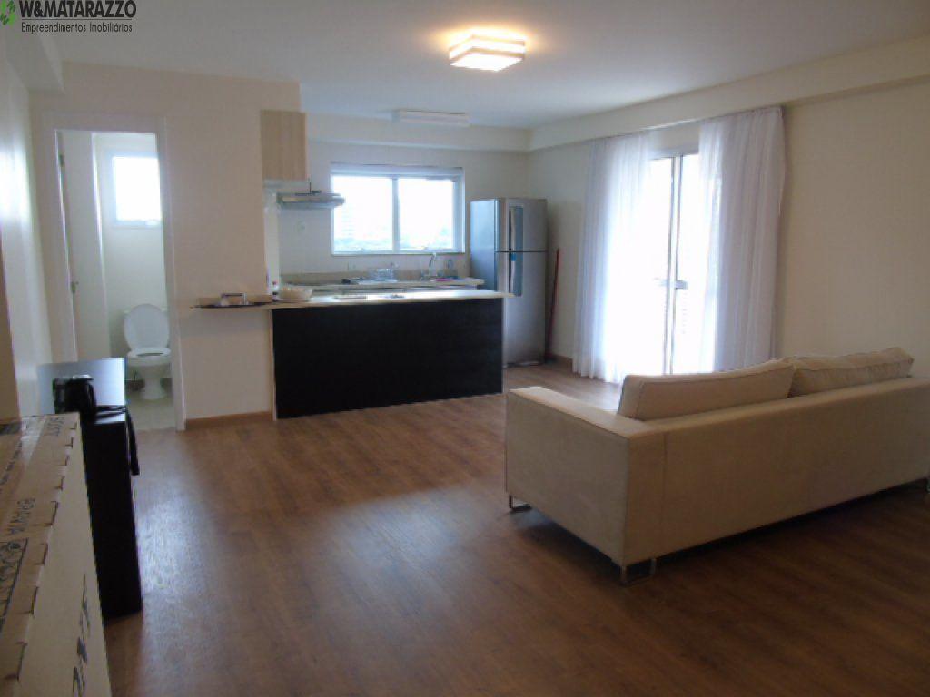 Loft Brooklin Paulista 1 dormitorios 2 banheiros 1 vagas na garagem