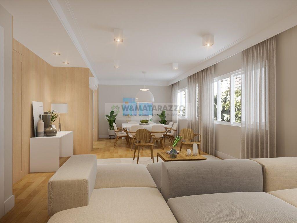 Apartamento Cerqueira César 2 dormitorios 4 banheiros 1 vagas na garagem